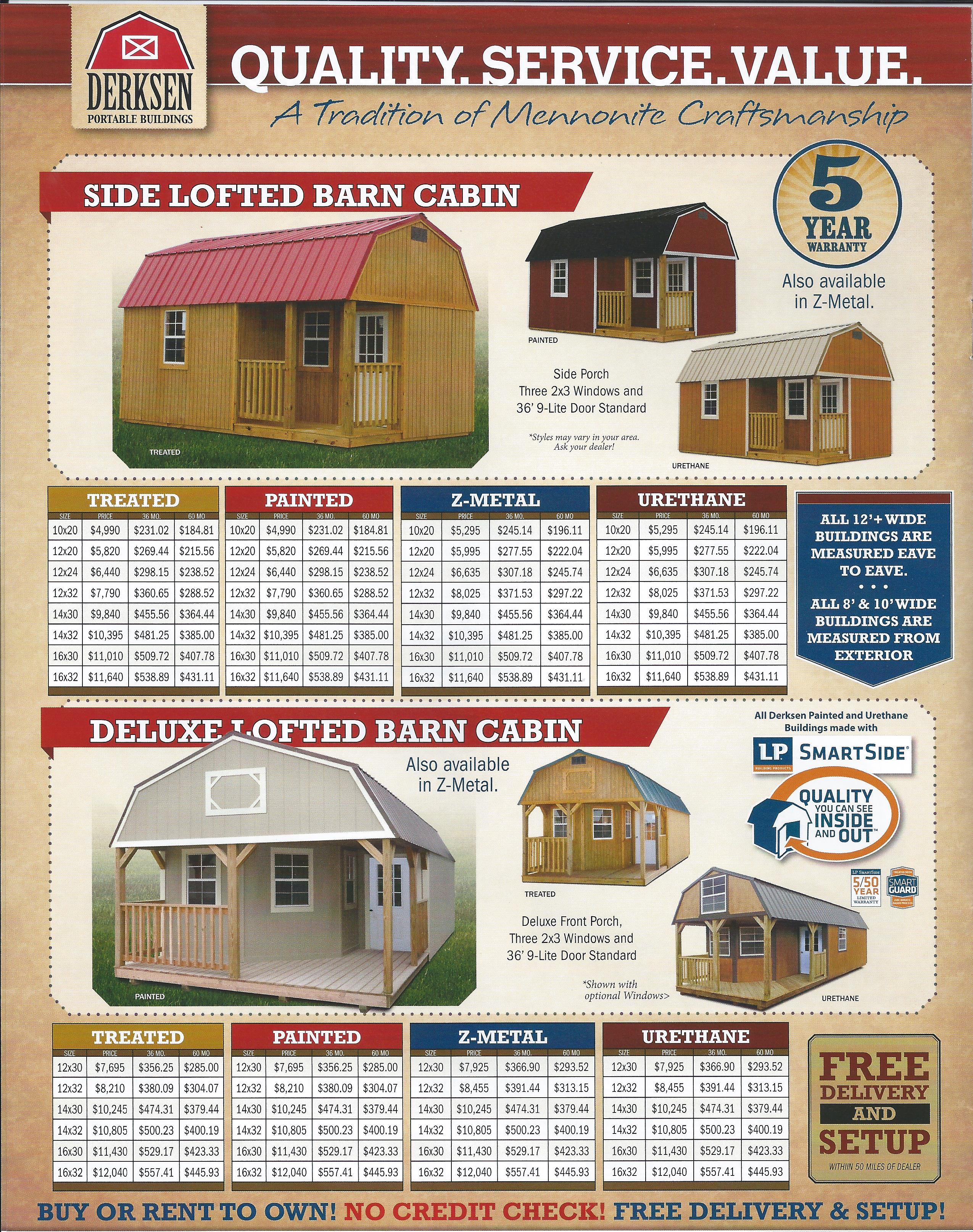 SIDE LOFTED BARN CABIN – DELUXE LOFTED BARN CABIN | 706-389-0932